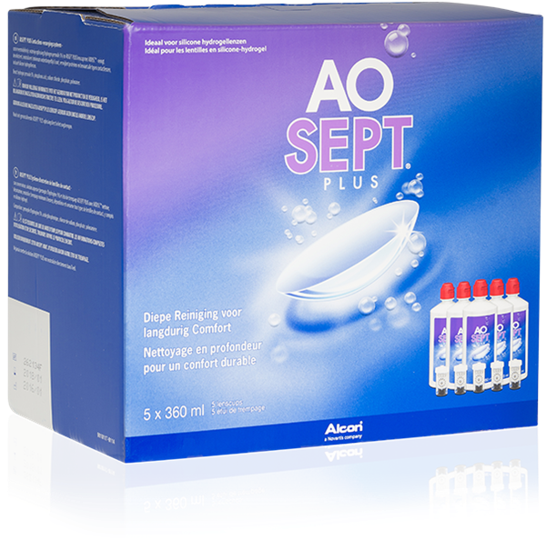 AOSEPT Plus Multipack 5x360ml