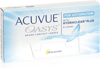 Acuvue Oasys for astigmatism 12-pack