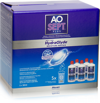 AOSEPT PLUS HydraGlyde 5x 360ml