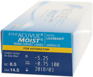 1 Day Acuvue Moist For Astigmatism 30