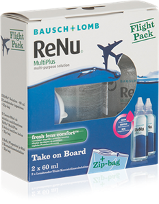 Renu MultiPlus Flight Pack (2 x 60ml)