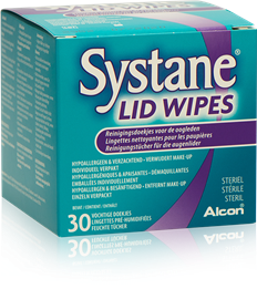 SYSTANE LID WIPES 30