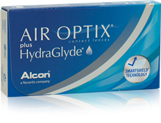 AIR OPTIX® met HydraGlyde®